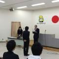 大阪クリーニング専門学院、卒業式